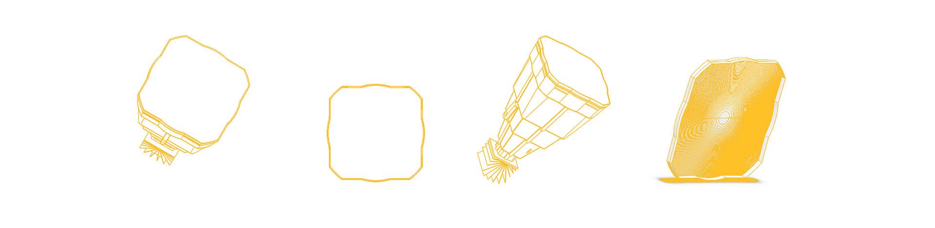 dibujo técnico lápara solar